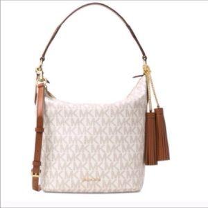 Large Vanilla Convertible (Two-Way) Elana Bag
